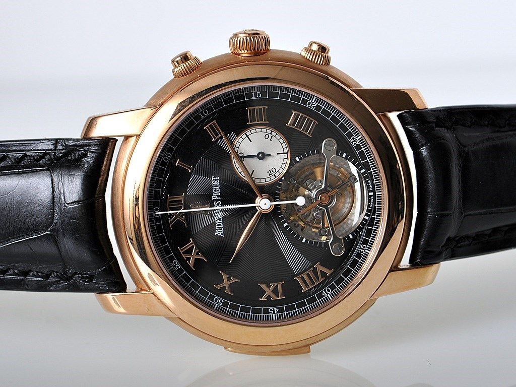 Audemars Piguet Jules Audemars Large Date Tourbillon Replica Watches banner