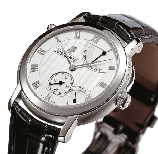 Audemars Piguet Jules Audemars Minute Repeater With Jumping Hour And Small Seconds Replica Watches banner
